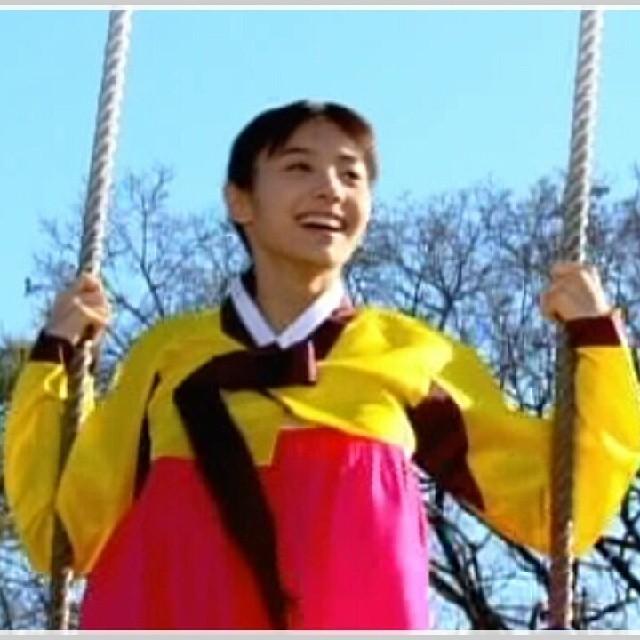 ChunHyang rides a swing (modern era)